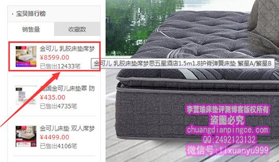 金可儿床垫哪款好?金可儿高性价比床垫——繁星A(繁星B)评测