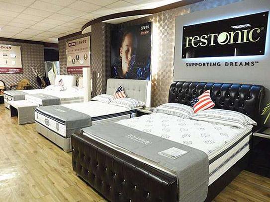 美国蕾丝床垫