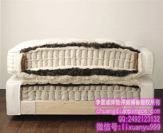 VI-SPRING床垫横切面