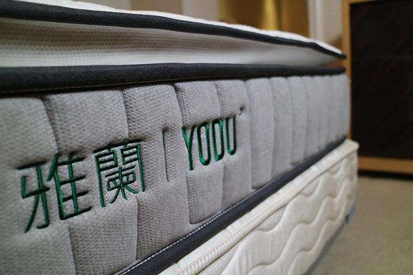 床垫边缘细节