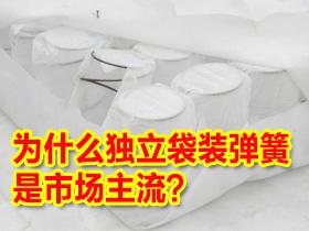 床垫选购疑问解答——独立袋装弹簧床垫为什么目前是市场上的主流?