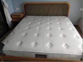【深度爆料】尼丝普林双层独立弹簧床垫乳胶席梦思床垫易北怎么样?容易塌陷吗?用后半年真实反馈!