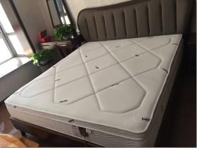 【买前必看】MOON进口天然乳胶3D透气层独立袋弹簧竹炭椰棕床垫怎么样?质量差不差?用后半年真实反馈!