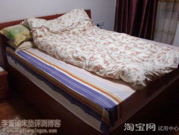 老爸老妈乳胶床垫初体验——偏硬款舒美娜乳胶蕾丝床垫试用分享
