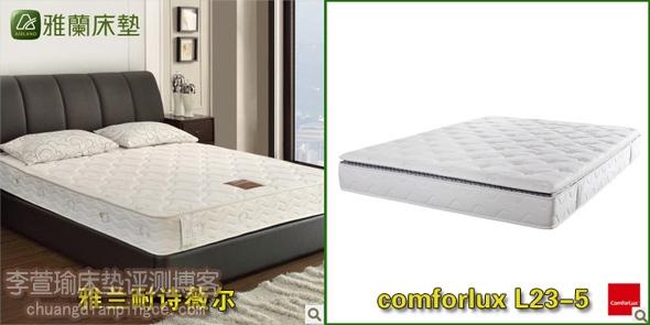 两款床垫外观对比
