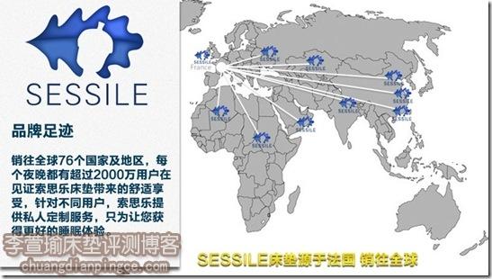 索思乐床垫全球销售点