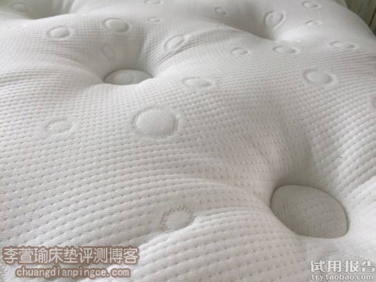 床垫面料细节