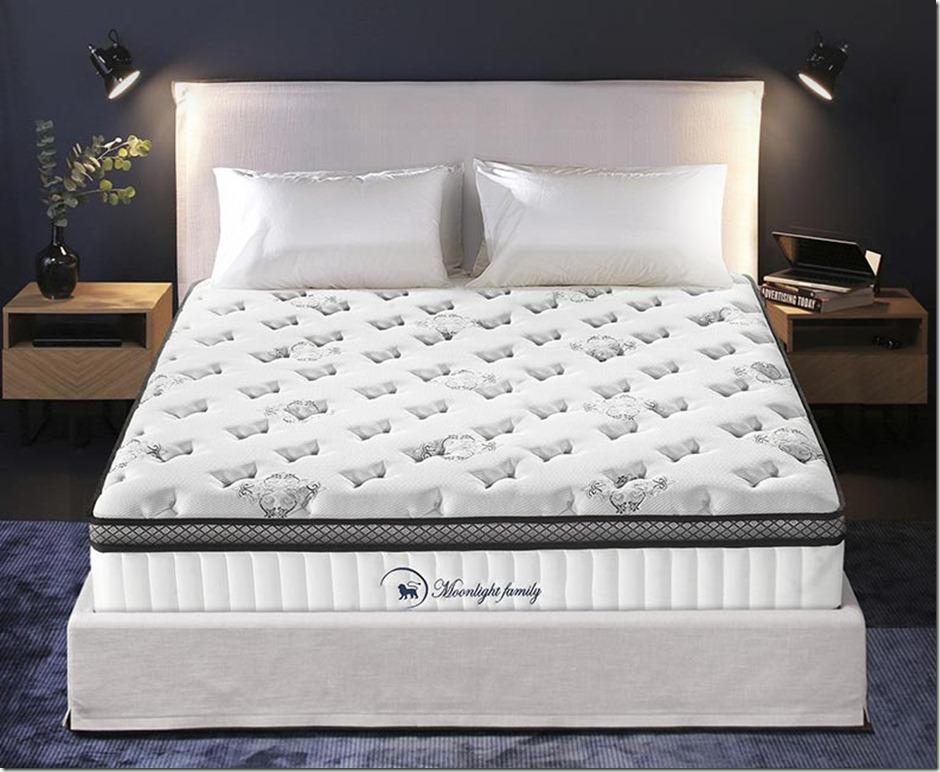 【买前必看】MOON双层独立弹簧席梦思床垫酒店舒适静音款2074怎么样?有买了后悔的吗?独家报道区别对比!